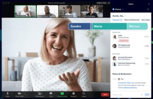 AI analysis of video calls