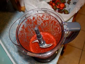 Basil & Strawberry Puree