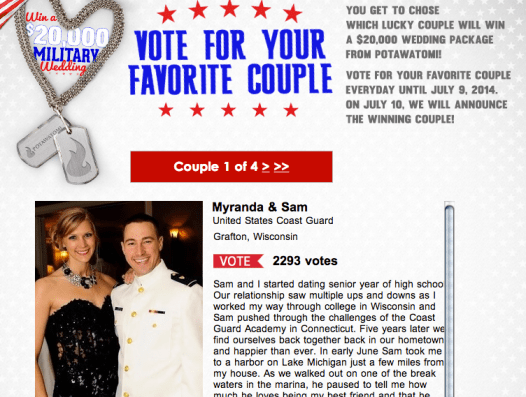 Make sure to vote this couple on the link below!