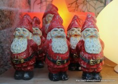 I adore these Santa gnomes, but of course they are like 50 Euros each. First world post problems!
