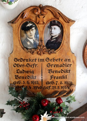 So many of the soldiers were not much older than my son, and many shared a plaque with a brother, father, or cousin.