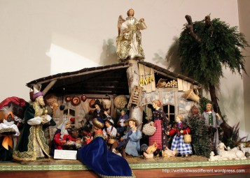 A neighboring town called Oberammergau is known for wood carving, especially creches.