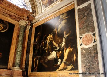 San Luigi dei Francesi: Carravaggio's The Martyrdom of St Matthew