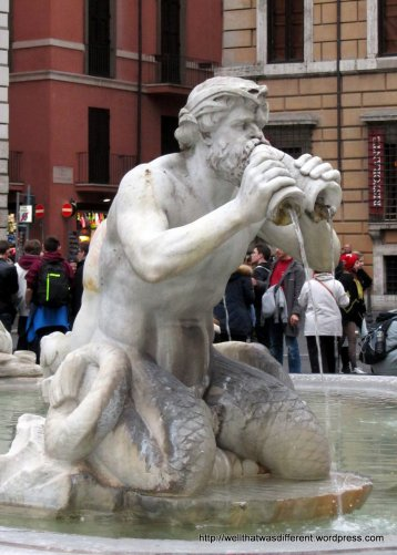 Fountain at the Piazza Navona