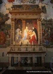 Santa Maria del Popolo: side chapel
