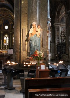 Santa Maria Sopra Minerva: quiet prayer space