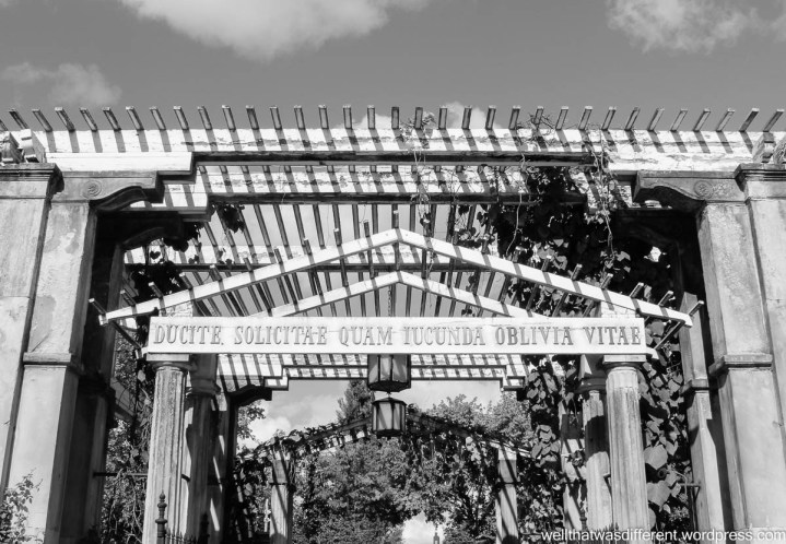 Gardens at Wilanov.