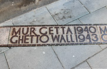 The Jewish Ghetto was here,