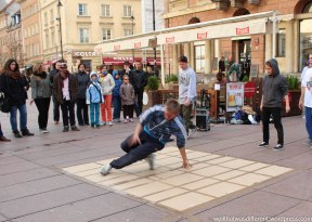 Warsaw: where white people still break dance.