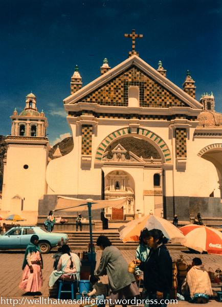 Church at Copacabana.