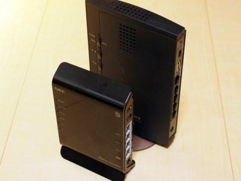 NEC Aterm WG1200HS PA-WG1200HS 小さい