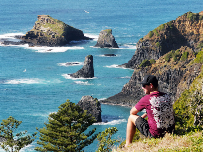 Norfolk Island cliff tops. Credit Norfolk Island Tourism.