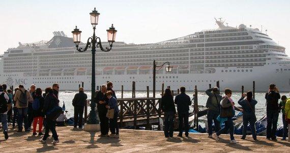 Ship in Venice