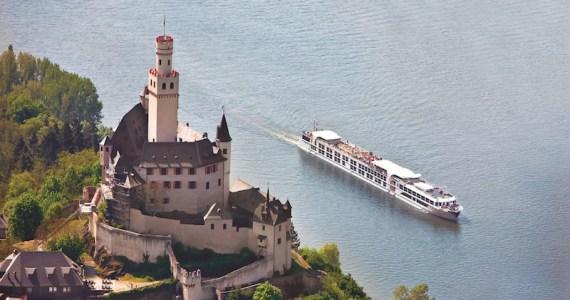 Rhine River cruising. Image courtesy Uniworld. 800x600