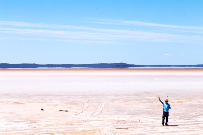 Salt Plain flats. Image courtesy of Sue Whiteman.