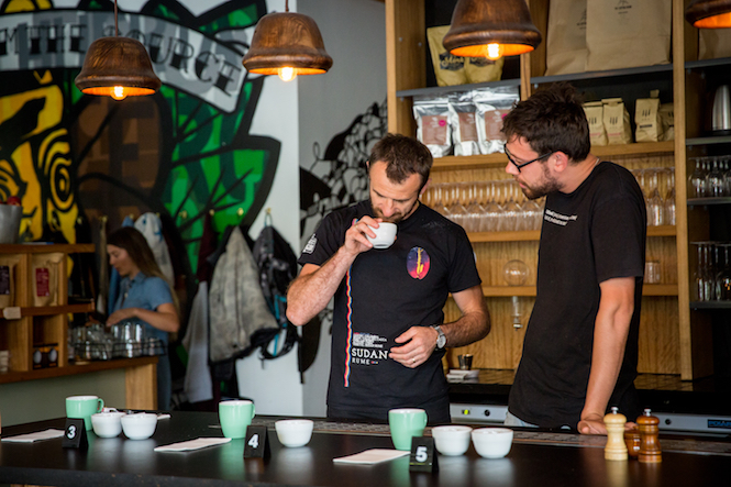 The Cupping Room selects Australia's best Barista.