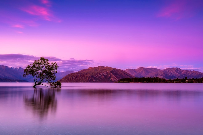 Stunning lakes of New Zealand.