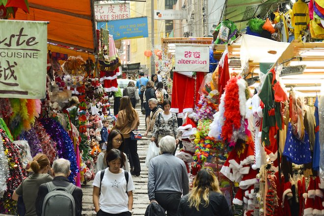 Pottinger Street. Image credit Hong Kong Tourism.