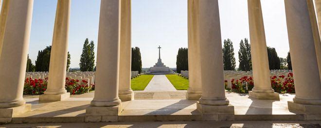 Ypres war memorial.