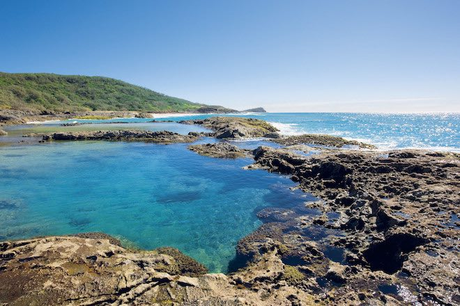 Champagne Rock Pools - Image TEQ and Darren Jew.