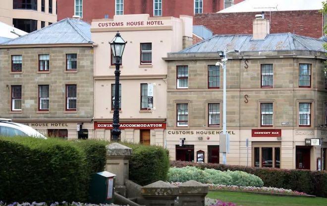 Hobart historic walking tour.