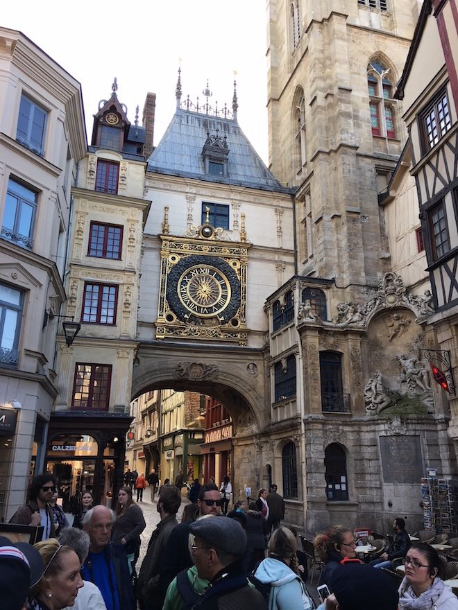 Scenic Freechoice walking tour of historic Rouen - Image Todd Sturm.
