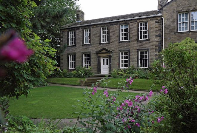 Front of the Bronte Parsonage Museum - Image credit The Bronte Society.