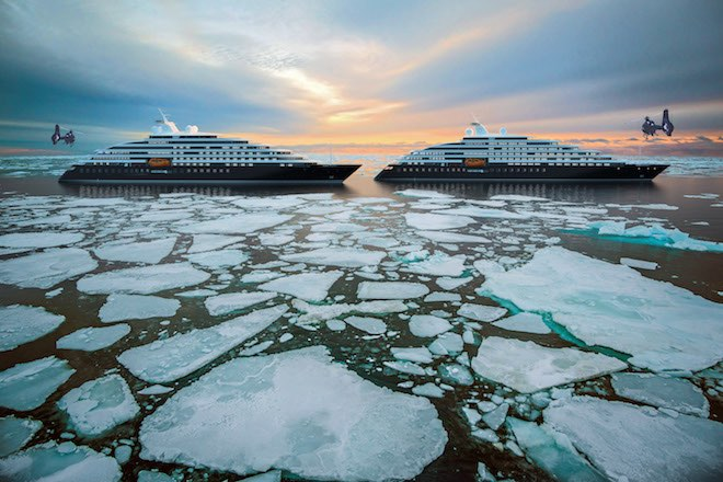 Scenic Eclipse I&II - Pancake Ice in the High Arctic.