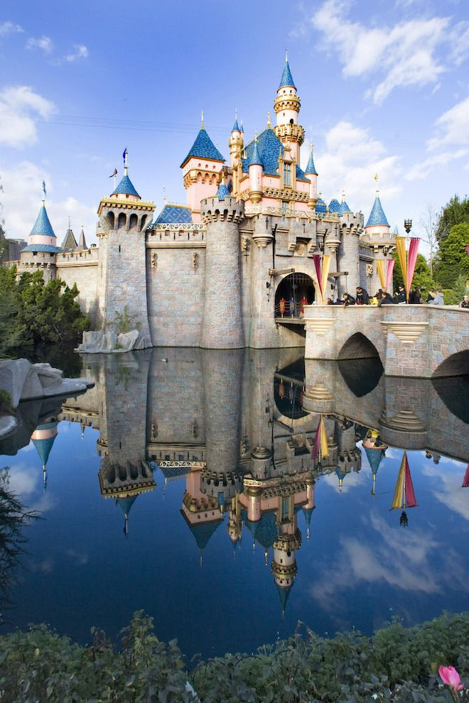 Sleeping Beauty Castle - Image Paul Hiffmeyer:Disneyland Resort.