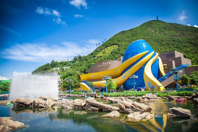 Ocean Park Hong Kong - Image Hong Kong Tourism Board.