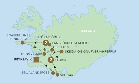 BR Iceland Highlights map 450