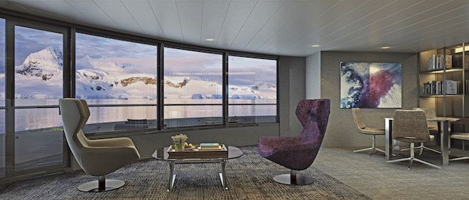 Scenic Eclipse - Grand Panorama Suite lounge.