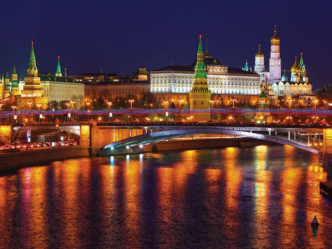 Kremlin in Moscow - Image credit Scenic.