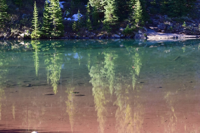 The reflective waters and sand colours of Maroon Bells - Image credit Jason Dutton-Smith