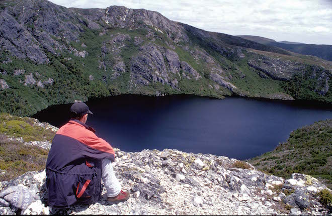 CRATER LAKE VIEWS FROM MARION_S LOOKOUT, CRADLE MOUNTAIN NATIONAL PARK -IMAGE CREDIT ANDREW MARSHALL