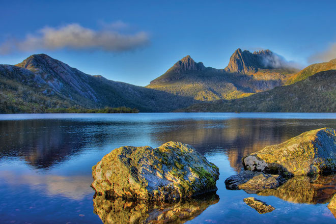 Cradle Mountain vista in beautiful Tasmania - Image courtesy Scenic