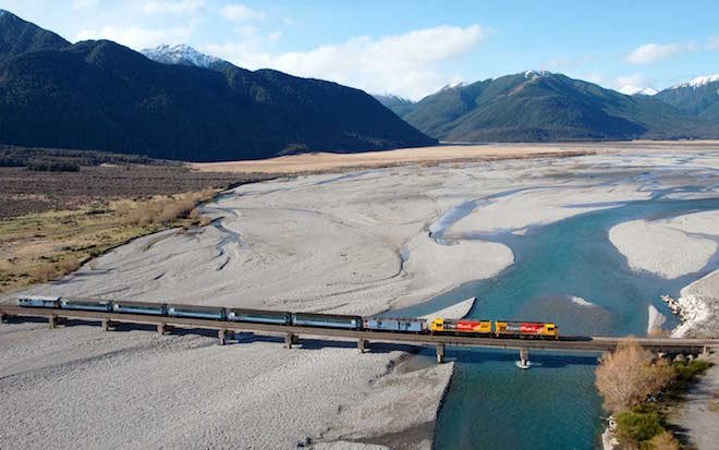 Tranzalpine rail journey - Image Scenic