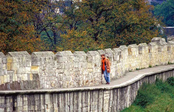 Gaze down from Yorks 13th-century walls on the story of England - Image credit Andrew Marshall