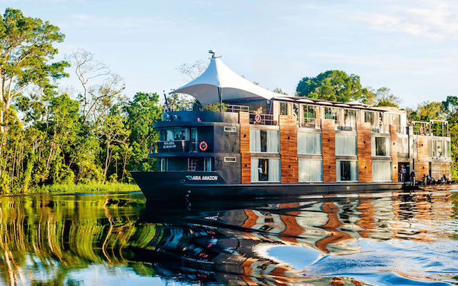 Scenic luxury Amazon River cruise - Image courtesy Scenic.