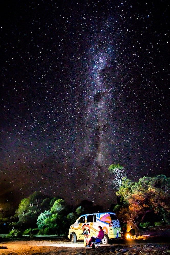 Wold Heritage Area Wilderness night sky - Image Ondrej Machart