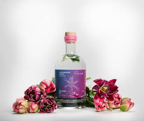 Lakeside Gin by Underground Spirits