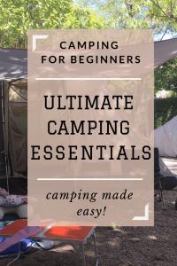Ultimate Camping Essentials