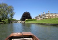 Punting on the Cam, Cambridge
