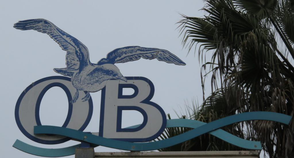 Ocean Beach Sign
