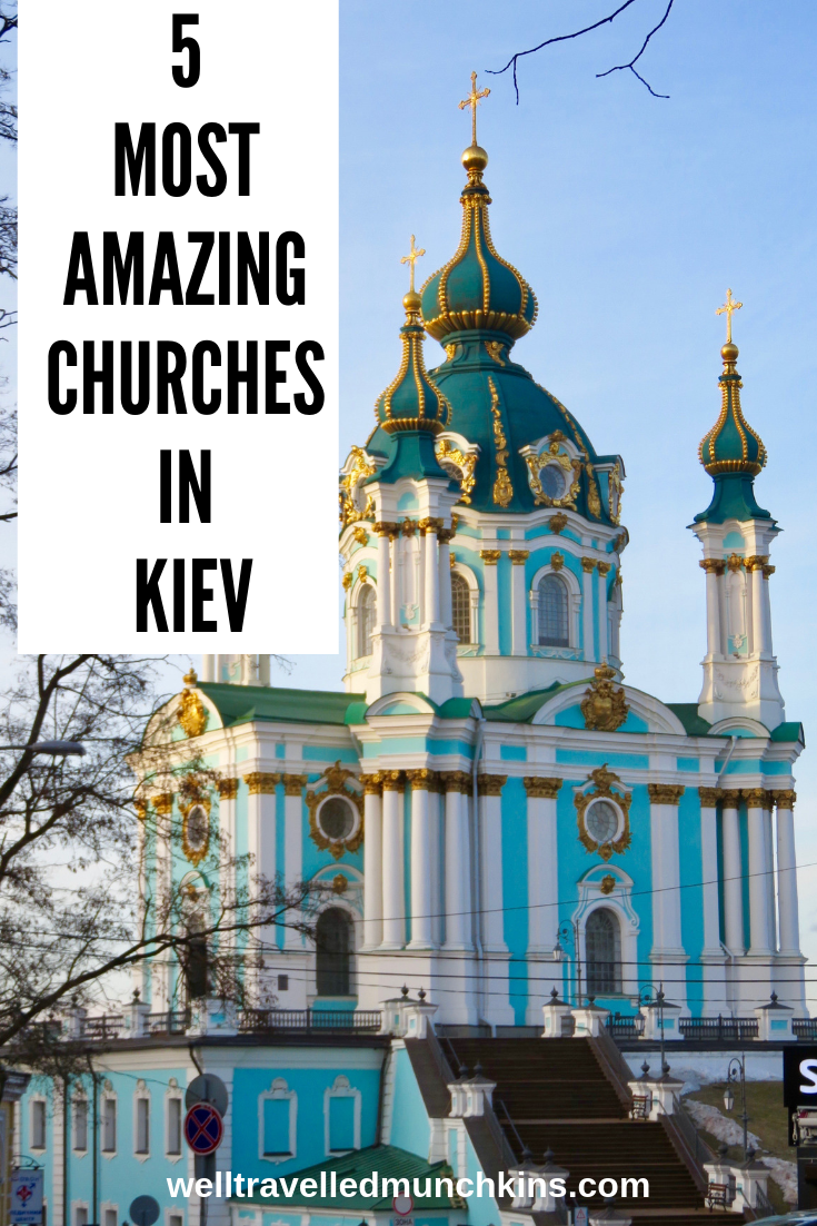 Kiev's Churches, Cathedrals and Monasteries