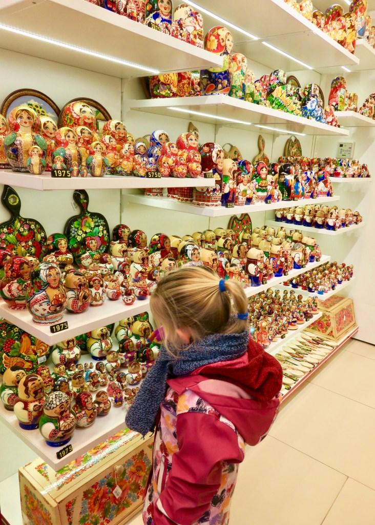 Ukrainan nesting dolls