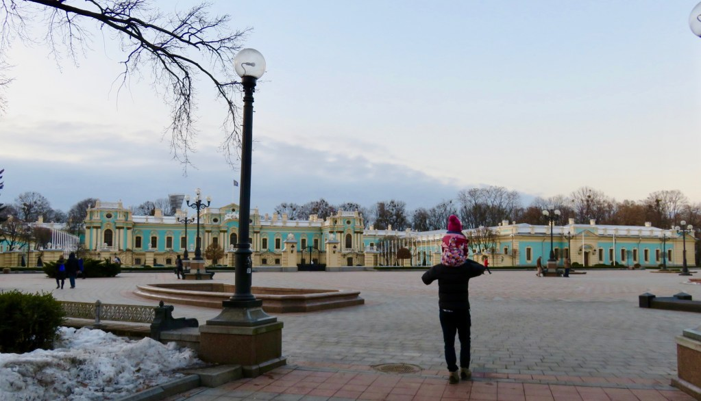 Mariyinsky Palace from behind
