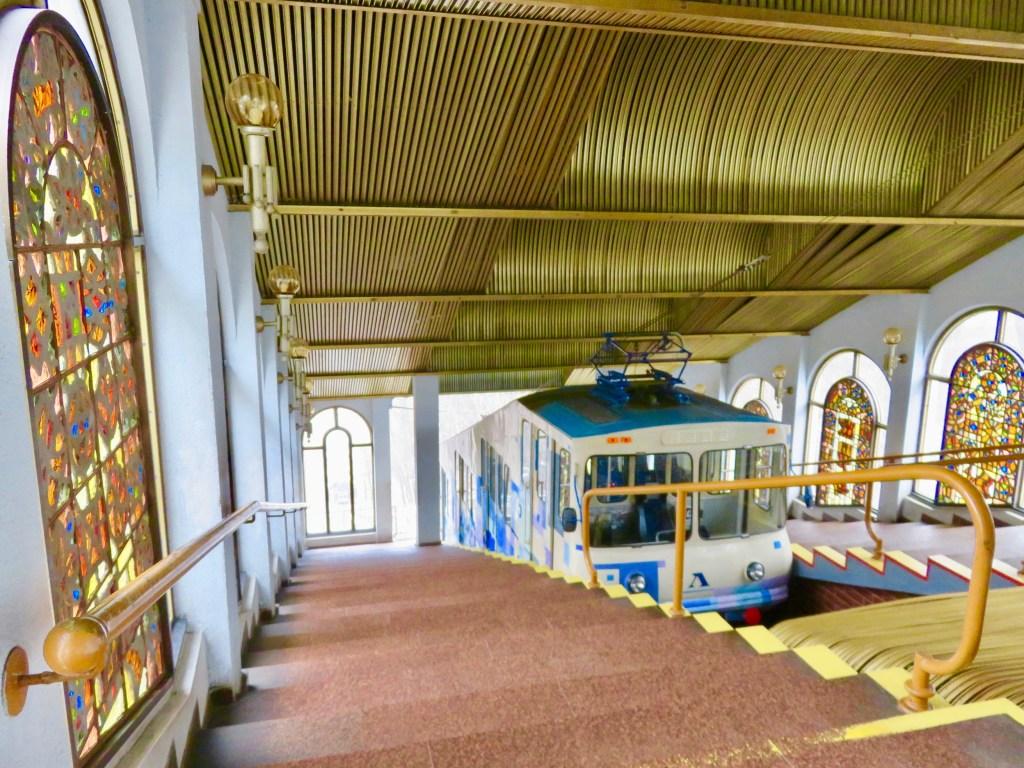 Verkhnia Stantsiia - Kiev's Funicular