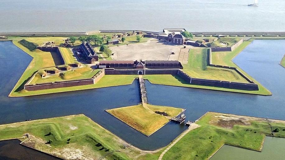 Ariel view of Tilbury Fort