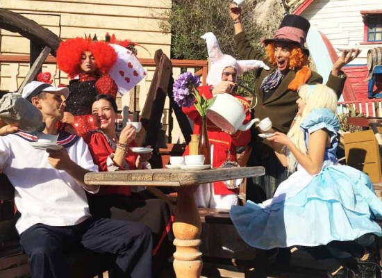 Alice in Wonderland at Popeye Village